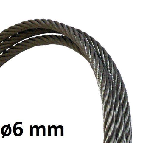 Câble de ligne de vie 6mm