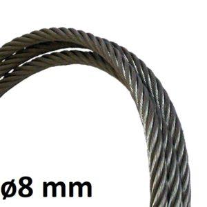 Câble de ligne de vie 8mm