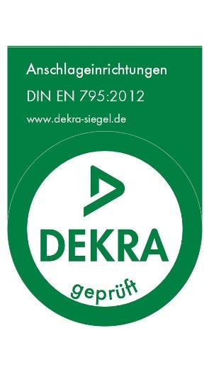 DEKRA-Siegel-Anschlageinrichtungen