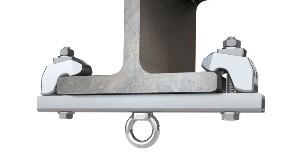 ABS-Lock T-Max | Point d'ancrage à crapauter pour acier