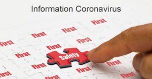 Information Coronavirus SafetyConcept
