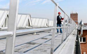 Protection sur toit plat
