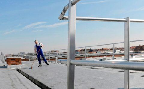 nettoyage de toiture securisé immeuble copropriété